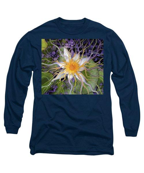 Bali Dream Flower Long Sleeve T-Shirt by Christopher Beikmann