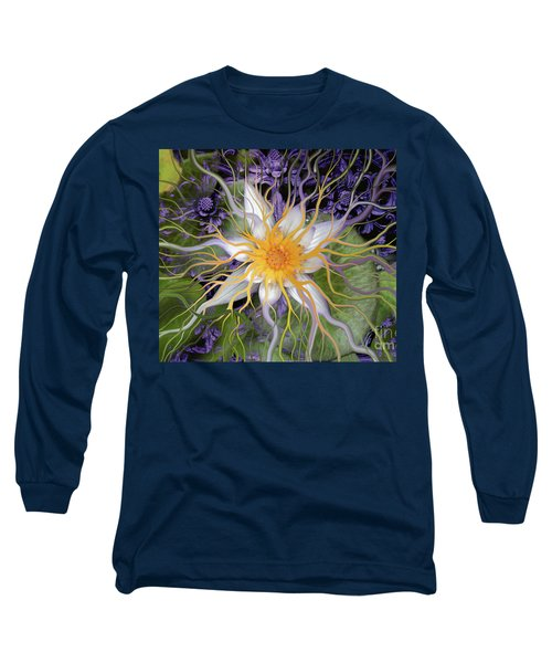 Bali Dream Flower Long Sleeve T-Shirt