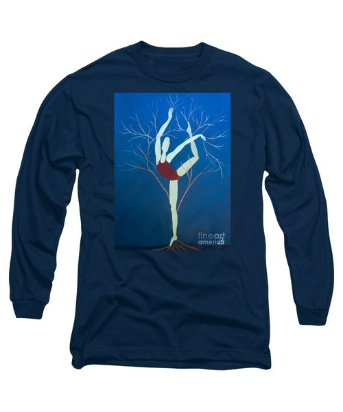 Ballerina Tree Long Sleeve T-Shirt