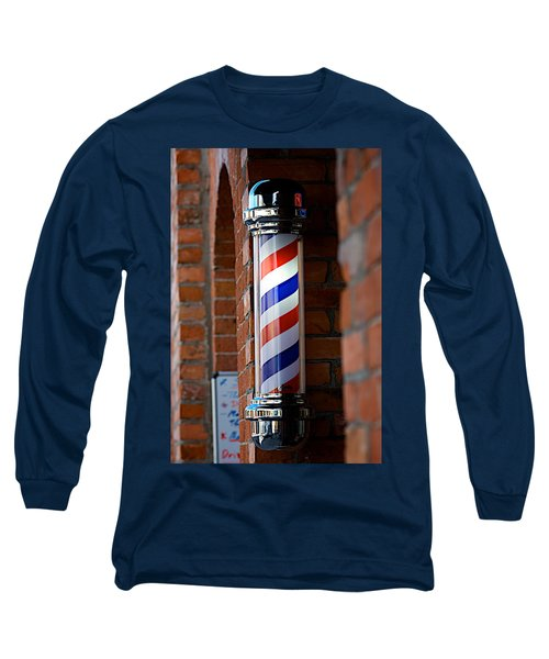 Barber Pole Long Sleeve T-Shirt