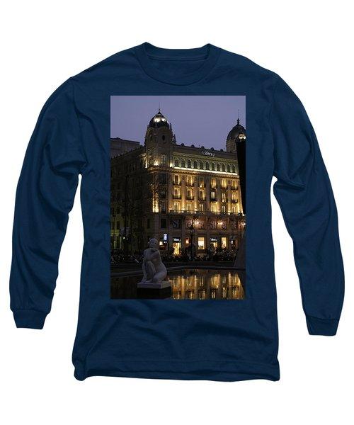 Barcelona Spain Long Sleeve T-Shirt