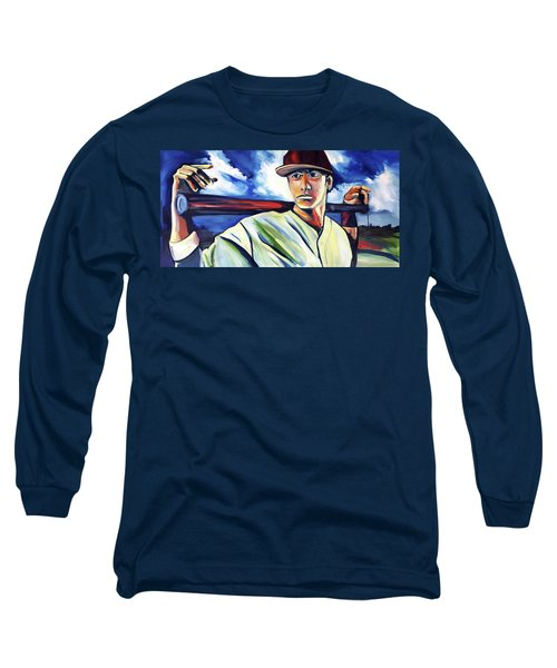Baseball Crucifix Long Sleeve T-Shirt