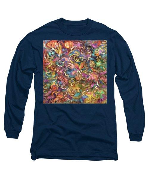 Batik Colorburst Long Sleeve T-Shirt