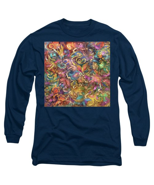 Batik Colorburst Long Sleeve T-Shirt
