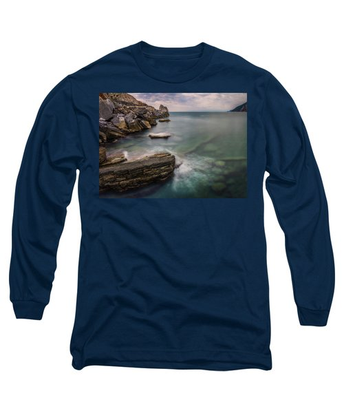 Bay Of The Gulf Of Poets Long Sleeve T-Shirt