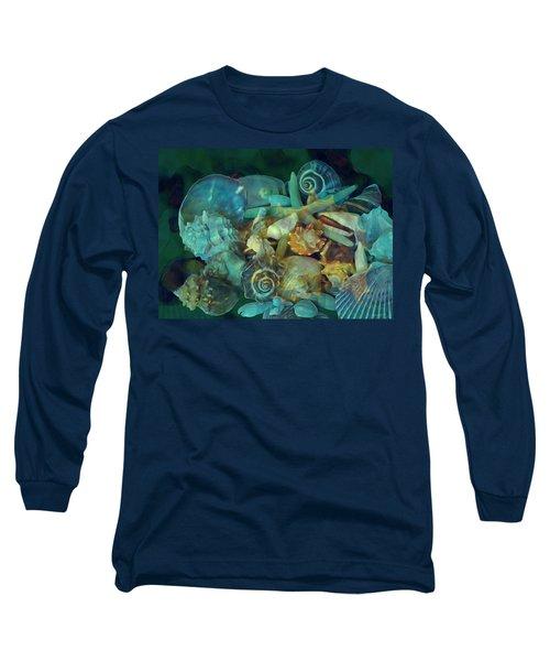 Beach Beauty 10  Long Sleeve T-Shirt