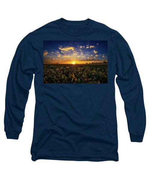 Bean Field Dawn Long Sleeve T-Shirt