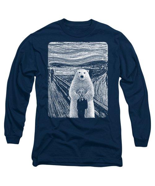Bear Factor Long Sleeve T-Shirt by Mustafa Akgul