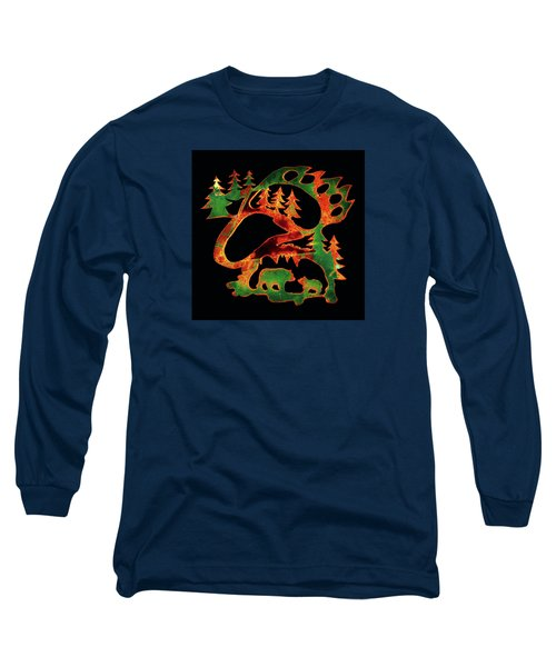 Irish Bears Long Sleeve T-Shirt