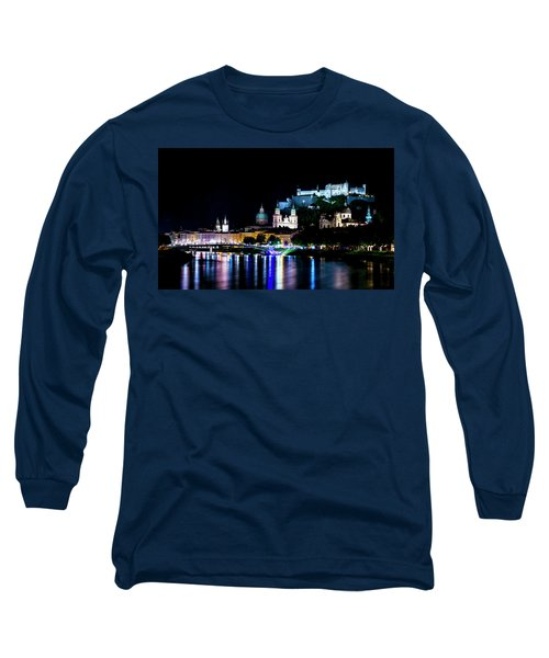 Long Sleeve T-Shirt featuring the photograph Beautiful Salzburg by David Morefield