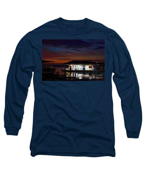 Before Sunrise Long Sleeve T-Shirt by Diana Mary Sharpton