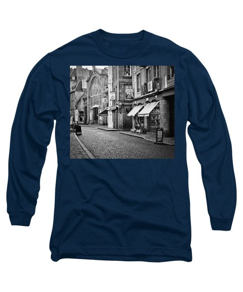 Behind The Walls 01 Long Sleeve T-Shirt by Elf Evans