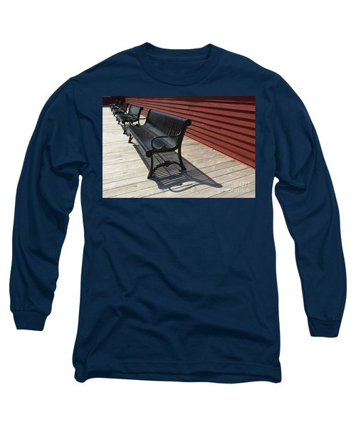 Bench Lines And Shadows 0841 Long Sleeve T-Shirt