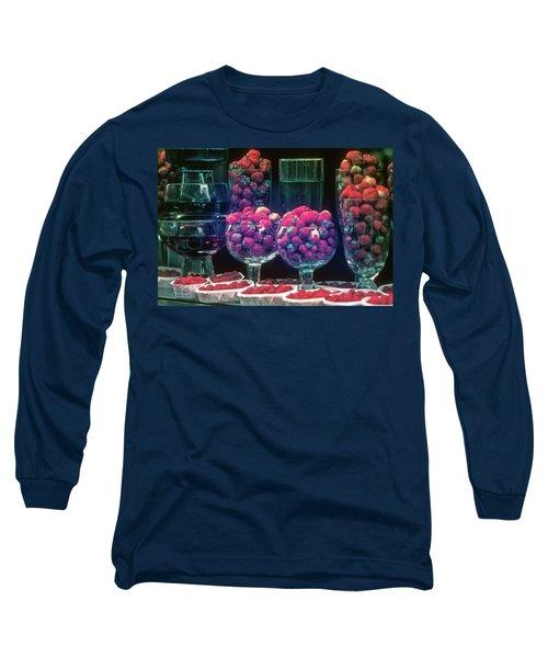 Berries In The Window Long Sleeve T-Shirt