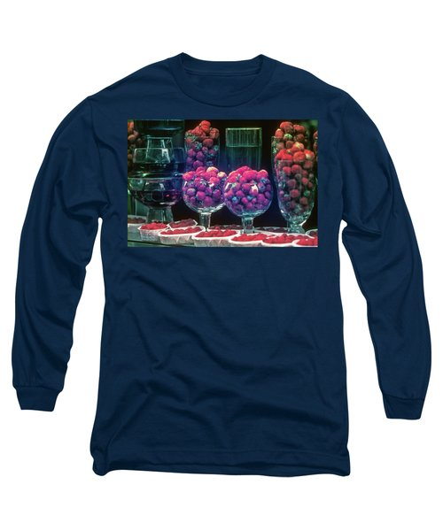 Berries In The Window Long Sleeve T-Shirt