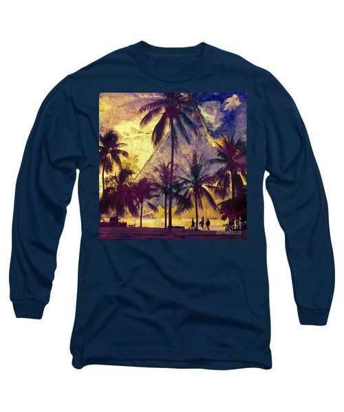 Beside The Sea Long Sleeve T-Shirt