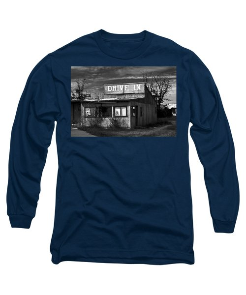 Better Days - An Old Drive-in Long Sleeve T-Shirt