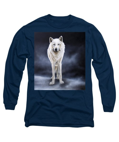 'between The White And The Black' Long Sleeve T-Shirt by Sandi Baker