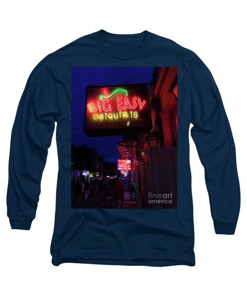 Long Sleeve T-Shirt featuring the photograph Big Easy Sign by Steven Spak