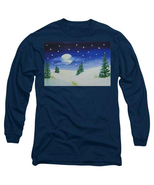 Big Moon Christmas Long Sleeve T-Shirt
