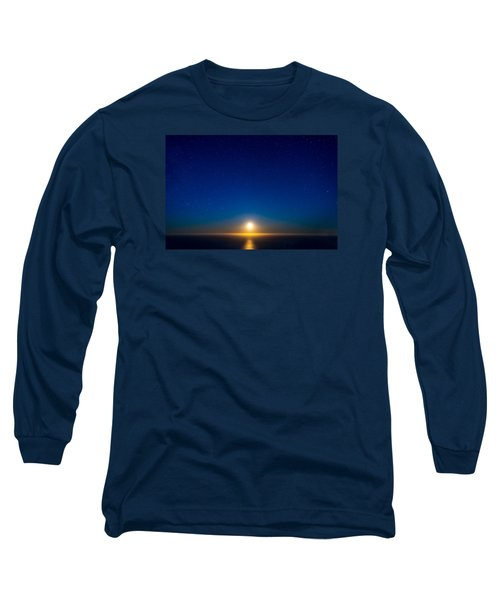 Big Sur Moonset Long Sleeve T-Shirt