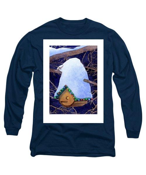 Bird House Christmas Long Sleeve T-Shirt