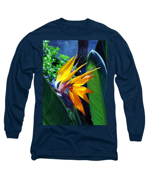 Bird Of Paradise Long Sleeve T-Shirt by Susanne Van Hulst