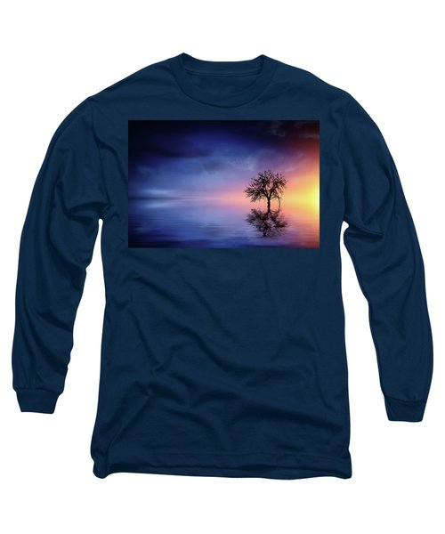 Birds In The Trees, Some Are Fleeing Long Sleeve T-Shirt