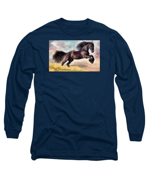 Black Beauty Long Sleeve T-Shirt
