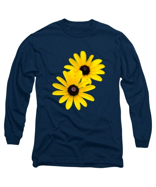 Long Sleeve T-Shirt featuring the photograph Black Eyed Susans by Christina Rollo