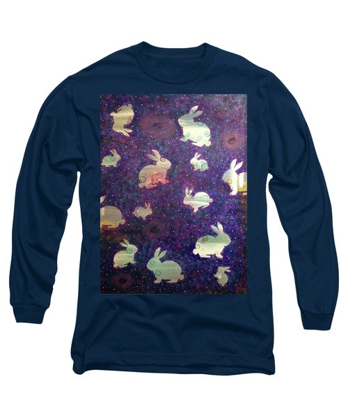Black Holes And Bunnies Long Sleeve T-Shirt