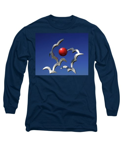 Long Sleeve T-Shirt featuring the photograph Blades And Ball by Christopher McKenzie