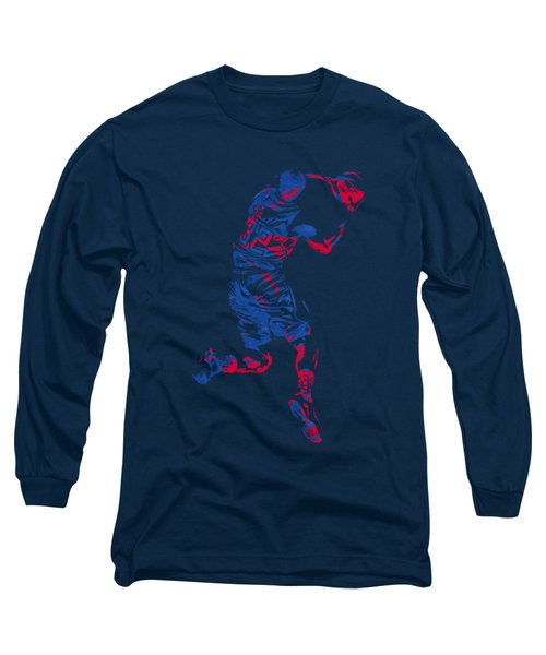 Blake Griffin Clippers Pixel Art T Shirt Long Sleeve T-Shirt