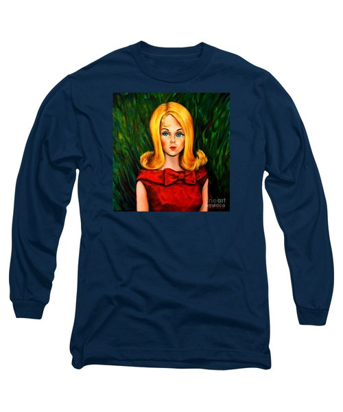 Blonde Marlo Flip Tnt Barbie Long Sleeve T-Shirt