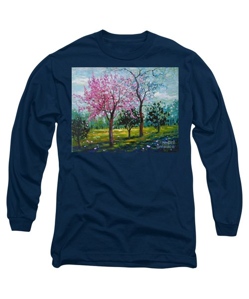 Bloom In Pink Long Sleeve T-Shirt