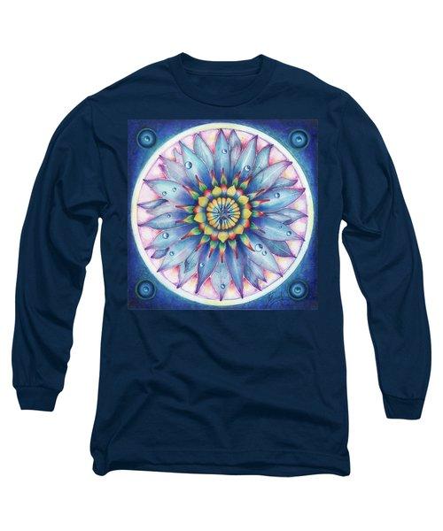 Bloom Of Counsciousness Long Sleeve T-Shirt by Anna Ewa Miarczynska