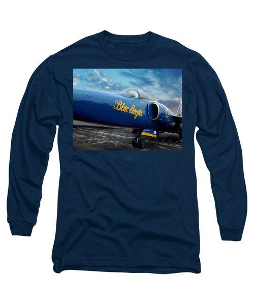 Blue Angels Grumman F11 Long Sleeve T-Shirt