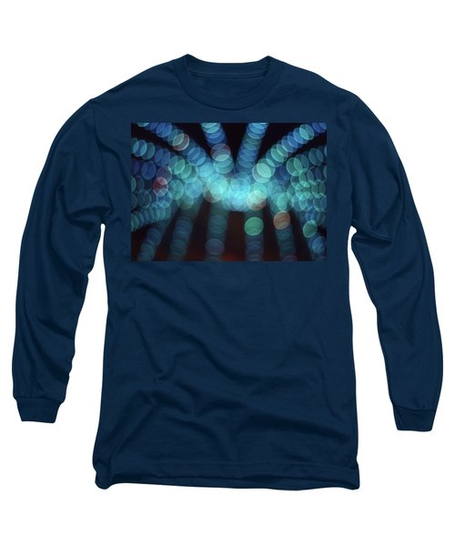 Blue Boogie Long Sleeve T-Shirt by Laurie Stewart