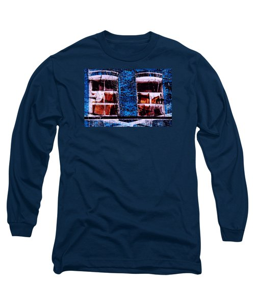 Blue Bricks Long Sleeve T-Shirt