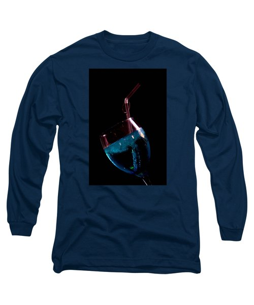 Long Sleeve T-Shirt featuring the photograph Blue But by Jez C Self