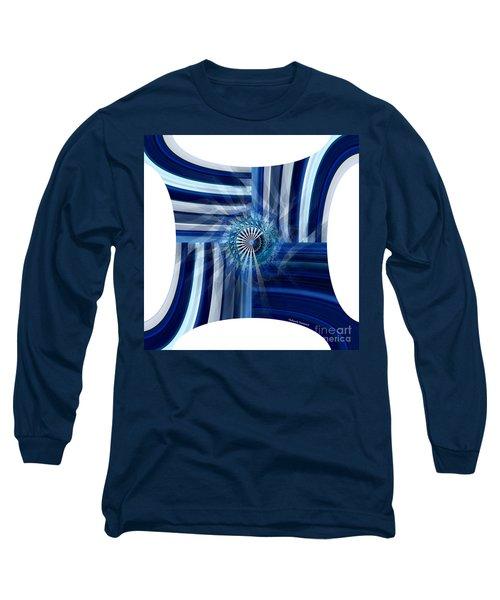Blue Dimension  Long Sleeve T-Shirt