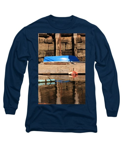Blue Dingy Long Sleeve T-Shirt