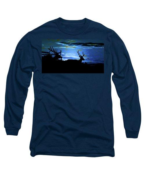 Blue Elk Dreamscape Long Sleeve T-Shirt