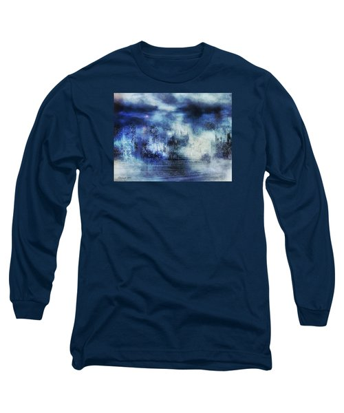 Blue Fog Long Sleeve T-Shirt