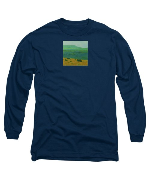 Blue-green Dakota Dream, 2 Long Sleeve T-Shirt