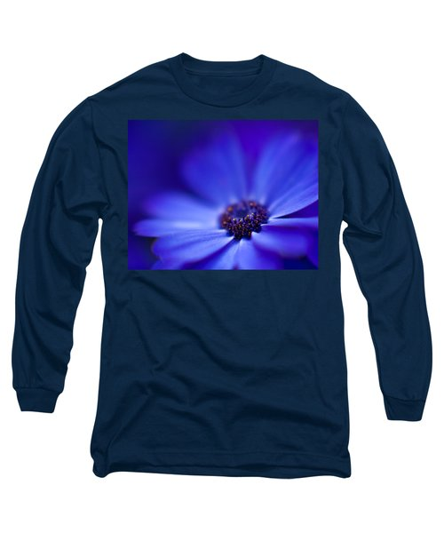Blue Long Sleeve T-Shirt by Mike Reid