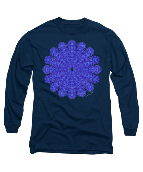 Blue Obsession Long Sleeve T-Shirt