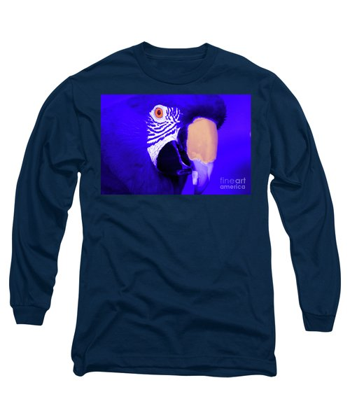 Blue Parrot  Long Sleeve T-Shirt