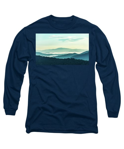 Blue Ridge Pastel Long Sleeve T-Shirt