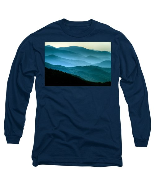 Blue Ridges Long Sleeve T-Shirt